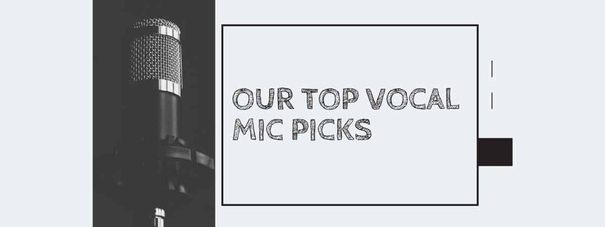 Our Top Vocal Mic Picks