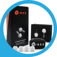 Vibes Ear Plugs for Festivals